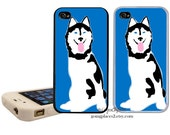 Husky iPhone Case  fits iPhone 6, 5, 5c, 4 and 4s
