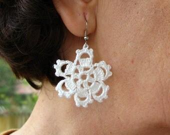 PDF Tutorial Crochet Pattern...Dangle Earrings -10