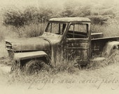 Willys Jeep - A Fine Art Photograph