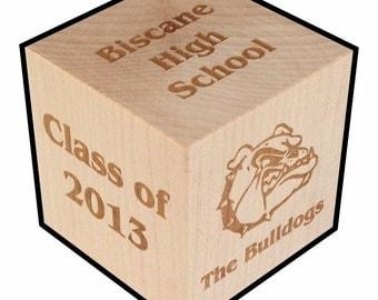 Graduation Gift, Personalized, Block