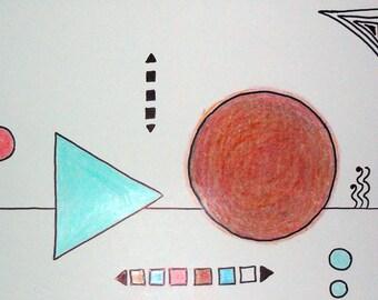 """Painting: """"Rune"""""""
