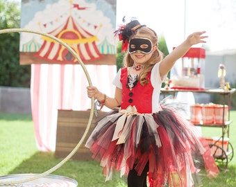 Show Stopping Ring Master Tutu, Halloween Costume, Circus, Carnival