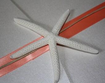Starfish Pocketfold Beach Wedding Invitation