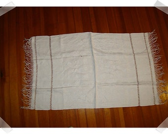 Cotton Runner/Soft White Cotton/ Home Decor*/Craft Supplies*