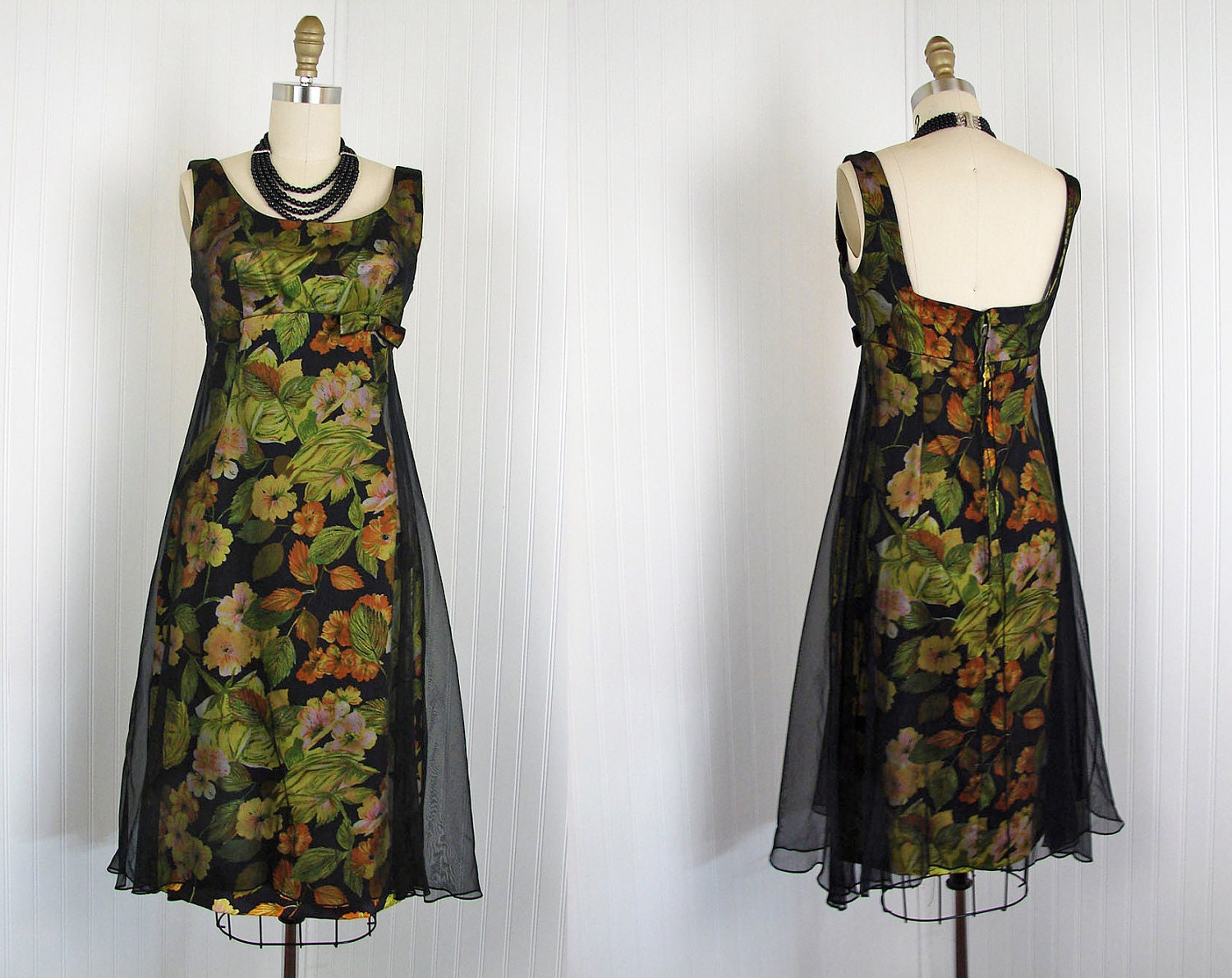 1950s dress vintage 50s french couture dress black by for French couture dresses
