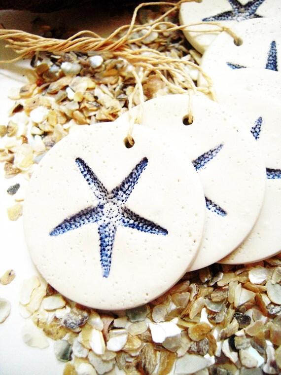 Wedding Favor Hanging Gift Tags : Wedding Favor Gift Tags Favors Tag Hang Tag Starfish Beach Theme ...