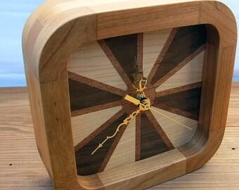 Cherry Desk Clock