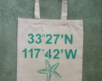 Longitude & Latitude Wedding Welcome Bag