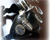 Steampunk  goggles glasses Time Travel Crazy Scientist's Oculo-Vision Tool welding cyber punk biker gothic rave
