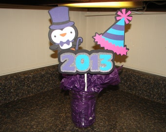New Year's Centerpieces-Party supplies-Party decorations
