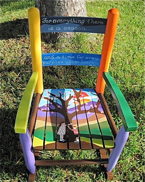 Delicieux ... Handpainted Rocking Chair | Teddiart. Updated: ...