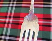 Vintage Rogers   Alhambra Serving  Fork     Silver Plate