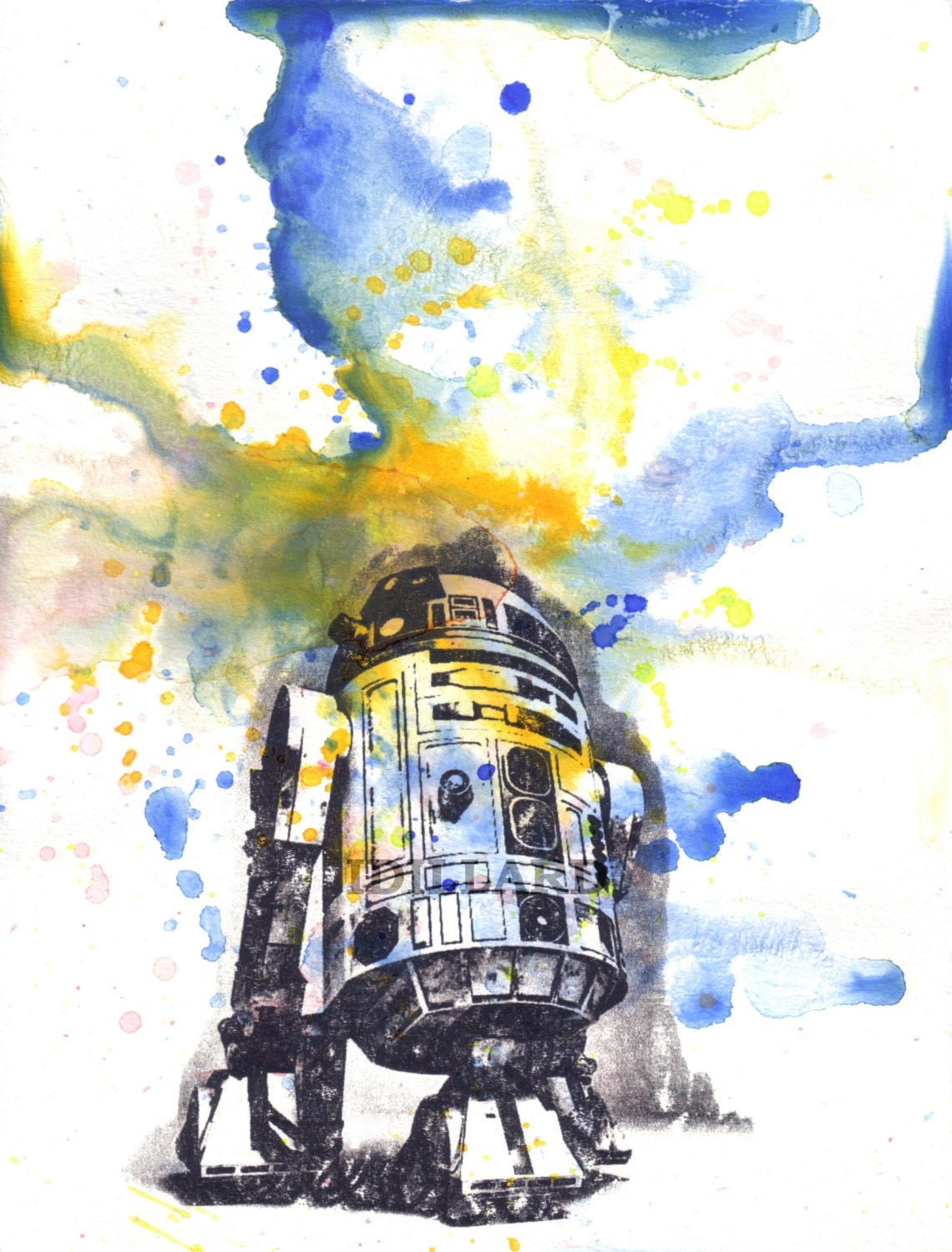 Star Wars R2d2 Art Star Wars Art R2d2 Poster