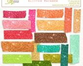 Digital Washi Tape glitter INSTANT DOWNLOAD