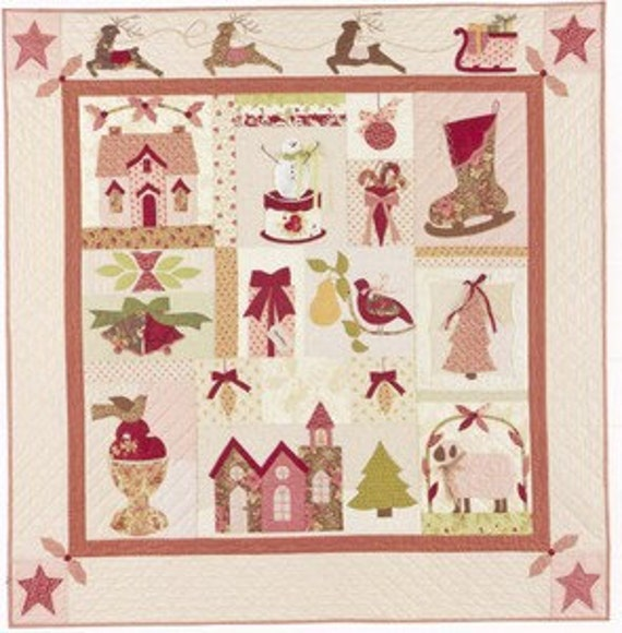 A Vintage Christmas Quilt Pattern By Bunny Hill Designs
