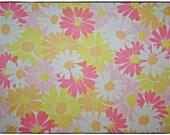 Vintage Sheet Fat Quarter - FQ- Reclaimed Material - Reclaimed Fabric- Reclaimed Sheet