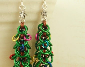Oh Christmas Tree Earring Tutorial -  Instant Download pdf