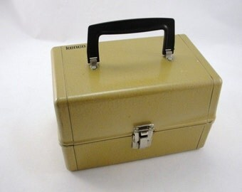 Kenco 8mm film canister storage box, metal storage box