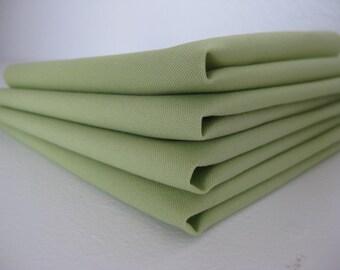 Cloth Napkins - Kiwi - 100% Cotton