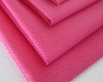 Cloth Napkins - Candy Pink - 100% Cotton