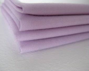 Cloth Napkins - Lavender - 100% Cotton