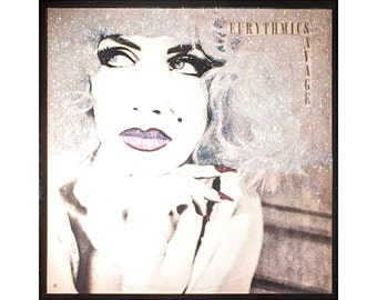 Glittered Eurythmics Savage Album