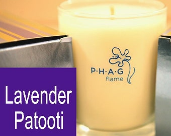 PHAG flame Premium Soy Candle- Lavender Patooti