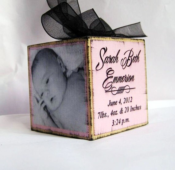 Babys First Christmas Gifts: Items Similar To Baby's First Christmas Personalized Photo