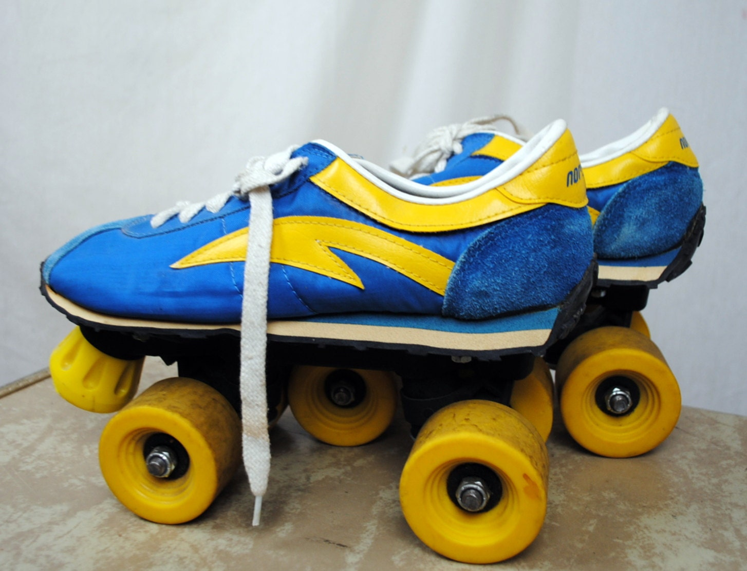 Vintage 70s Roller Skates Norsport Size 8 1/2 by RogueRetro