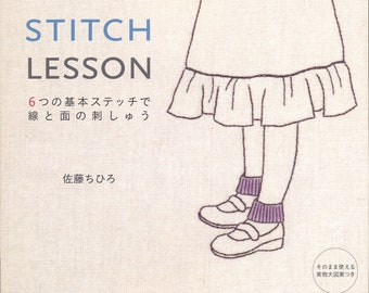 Master Chihiro Sato Collection 03 - Stitch Lesson - Japanese craft book