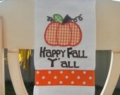 Burp Cloth for the Fall