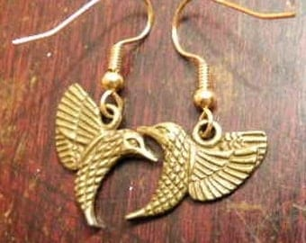 Inspired from the MockingJay earrings