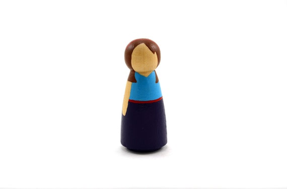 Wooden Dollhouse Doll - Daughter