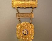 Vintage Brooch Amalgamated Sheet Metal Workers Union