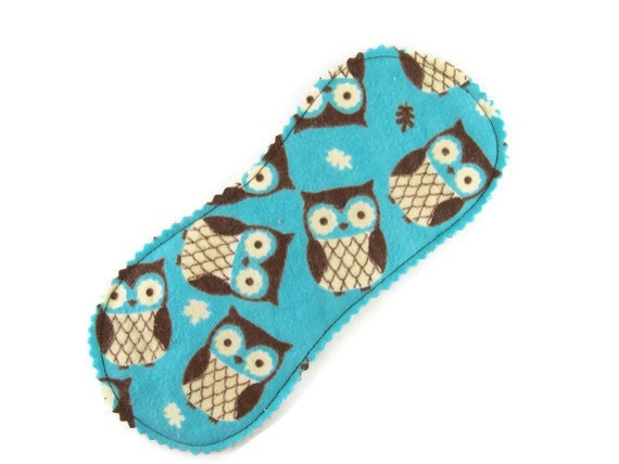 Little Peanut Panty Liner in Hoot Owl - Reusable Cloth Liner