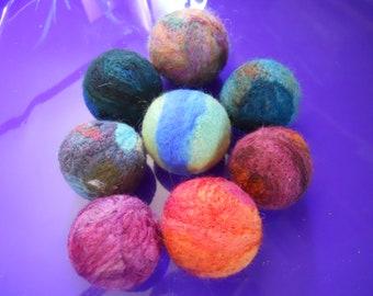 Catnip Toy Needle Felted Wool Catnip Ball