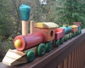 GIANT MYRTLEWOOD TRAIN set