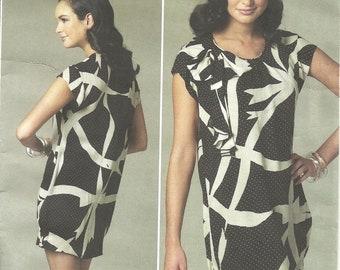Vogue V1217 Anna Sui Dress size 6-12 FF