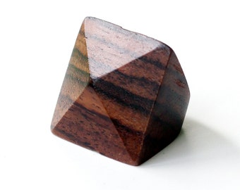 Wooden Pyramid Ring