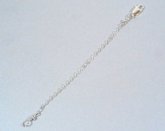 8 Inch Necklace Extender-Sterling Silver