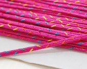 5 yds 4 mm rainbow trim with Color of Your Choice