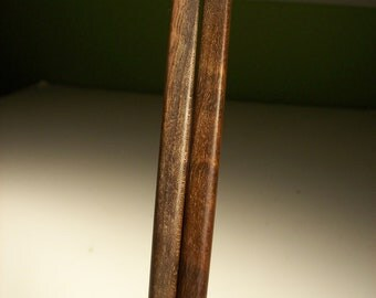 Black walnut hair sticks 6in thin matched pairs