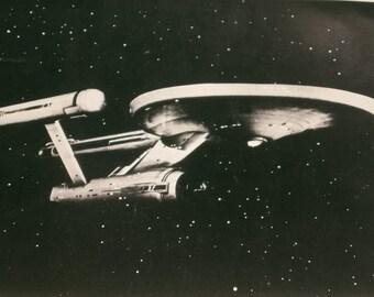 Star Trek Original USS Enterprise Photograph