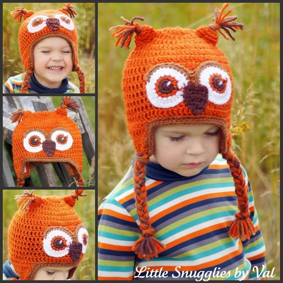 SAVE NOW SALE The Fall Owly Infant-Adult Sizes Available