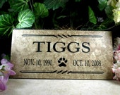"Garden Memorial plaque. Maintenance Free 12""x6""x3/8"" ""Charlotte"" Design- Price includes shipping and"