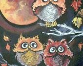 Modern Cross Stitch Pattern  PDF -  Wise Owls Counted Cross Stitch Chart