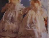 """Cloth Bed Doll Sewing Pattern UNCUT Simplicity 9604 20"""" and 14"""" dolls and clothes"""