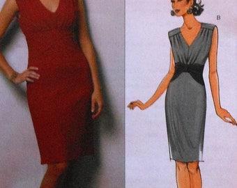 Suzi Chin Dress Sewing Pattern UNCUT Maggy Boutique Butterick B5385 Size 6-12