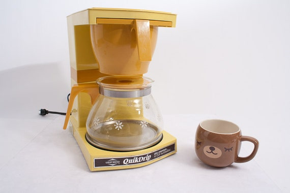 Mr Coffee Retro Coffee Maker : Items similar to Vintage Coffee Maker - West Bend Coffee Maker - 1960s vintage - Mr. Coffee on Etsy