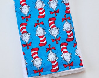 Burp Cloth Dr Seuss For Baby Shower Gift Baby Accessories Burp Rag Dr Suess Cloth Diaper, Made From Dr Seuss Fabric